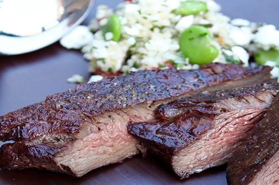 香烤主菜排--蚕豆食谱及葡萄酒搭配 Decanter吃了牛腩头晕图片