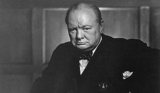 Sir Winston Churchill on wine