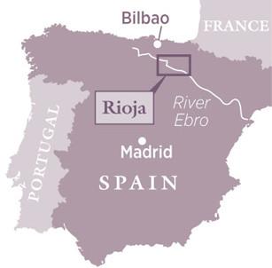 Map Of Spain Rioja.Rioja Spain Decanter China 醇鉴中国