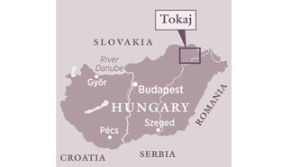 Tokaj on the map