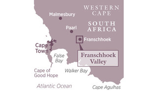 Franschhoek on the map