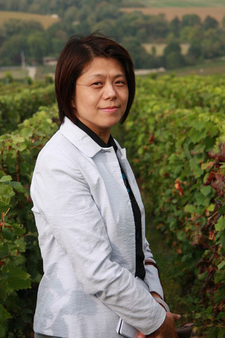 Wang Wei, representative of the Comité Champagne (CIVC) in China