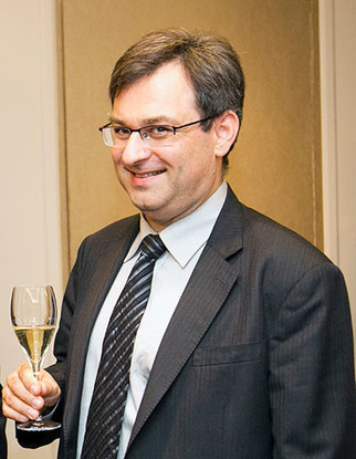 Image: Vincent Perrin, head of Comite Champagne, credit CIVC