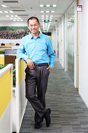 Image: Shi Jianjun, vice president of Amazon China, credit Amazon China