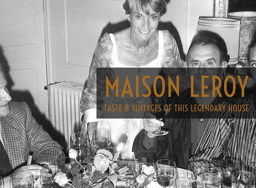 #WINEWEDNESDAYS Maison Leroy wine tasting