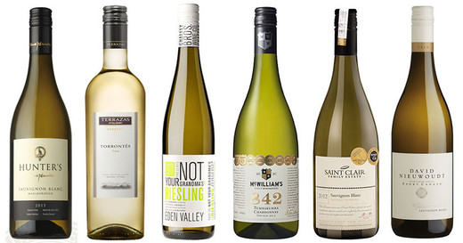 7 award-winning white wines from the Southern Hemisphere-Decanter world Wine Awards