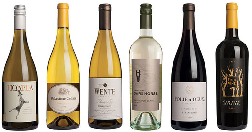 Best of California - wines under £20