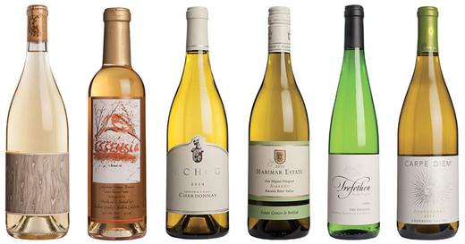 Best of California -  white wines under £40