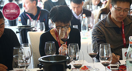 Image: a visitor tasting wine in a masterclass at Decanter Shanghai Fine Wine Encounter 2015 © Decanter