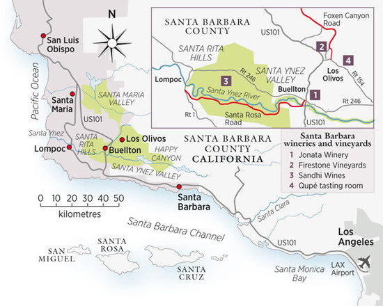 Santa Barbara, California, USA | Decanter China 醇鉴中国 on map of california monterey bay area, map of california santa cruz area, map around los angeles, map of los angeles suburbs, map of los angeles and lax, map of greater los angeles, map of airports in los angeles area, map of california with los angeles, map of los angeles county, greater los angeles california area, map for los angeles, map of red bluff california area, map of cities near los angeles, map of los angeles and surrounding areas, map of the city of los angeles, map of lax to anaheim, map of thousand oaks california area, map of california san francisco bay area, map of southern los angeles, map of la,