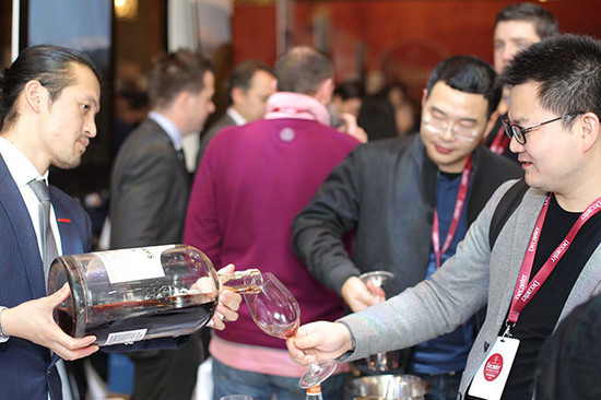 Image: Chinese consumers at 2015 Decanter Shanghai Fine Wine Encounter