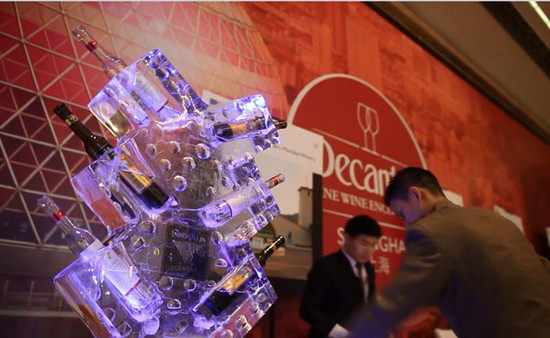 Image: Canadian ice wines presented at Decanter Shanghai Fine Wine Encounter