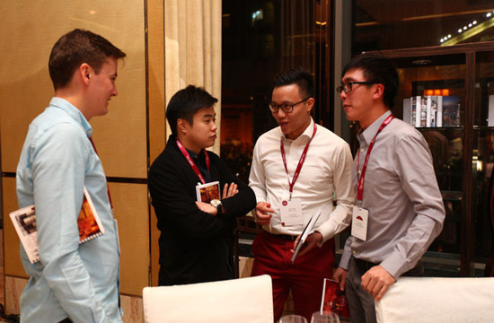 Image: Chinese wine lovers at Chinese wine tasting during 2015 Decanter Shanghai Fine Wine Encounter