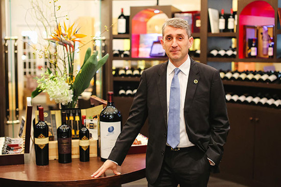 Image: Bruno Baudry, CEO of ASC Fine Wines