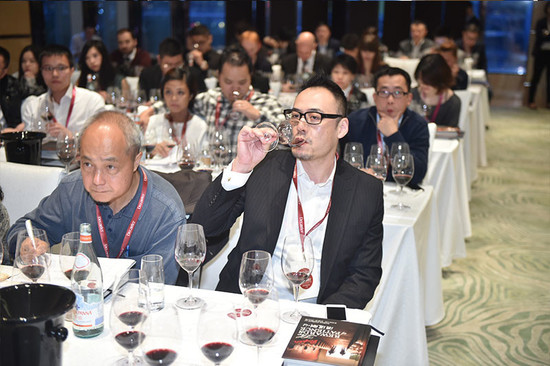 Image: Chinese wine lovers at Penfolds Grange masterclass of 2014 Decanter Shanghai Fine Wine Encounter