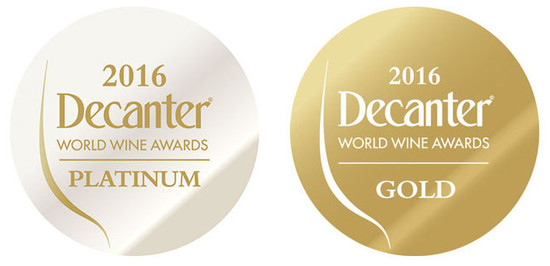 DWWA 2016: Platinum and Gold medal