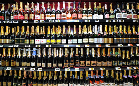 Sparkling wines. Image credit Decanter