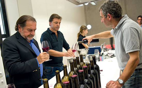 Image: Michel Rolland (left), credit Decanter