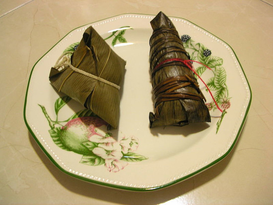 Image: Glutinous rice dumplings, from Wiki
