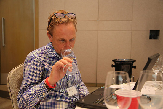 Image: Marcus Ford at Decanter Asia Wine Awards judging week
