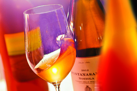 Image: Orange wines, credit Decanter