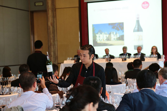 Image: Bordeaux First Growths masterclass, 2014 Decanter Shanghai Fine Wine Encounter