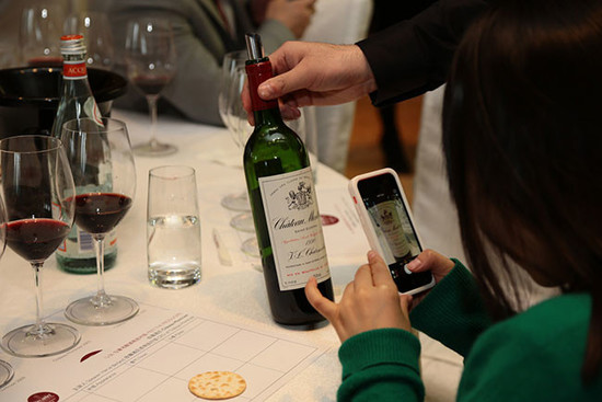 Image: Montrose masterclass, 2014 Decanter Shanghai Fine Wine Encounter