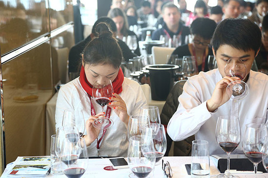 Image: Mouton masterclass, 2015 Decanter Shanghai Fine Wine Encounter