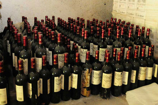 Image: Bordeaux wines confiscated by Shantou Customs, credit Shantou Customs
