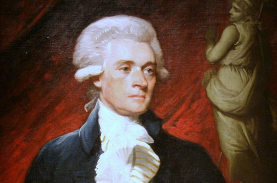 Image: Portrait of Thomas Jefferson by Mather Brown. Credit: WikiCommons//cliff1066