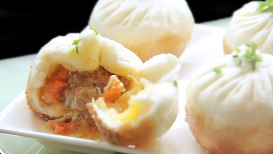 Image: steamed bun, credit Four Seasons
