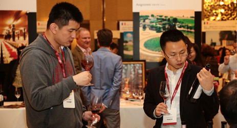 Image: Chinese wine lovers at Decanter Shanghai Fine Wine Encounter