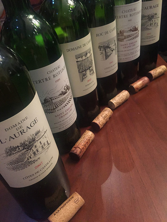 Image: Wines made by the Mitjavile family, credit Michel LU