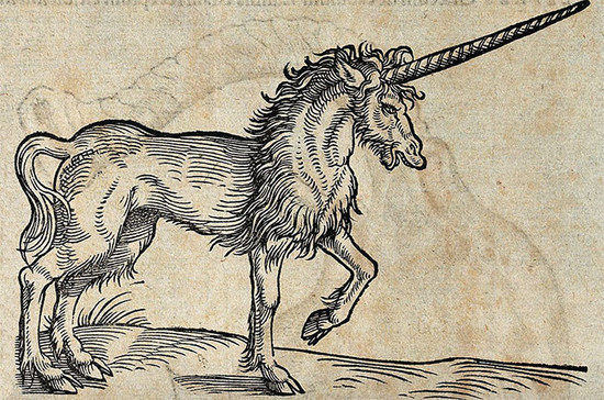 Watch out for 'unicorn' wines that never existed. Credit: Conrad Gessner / Wellcome Images /Wiki Commons