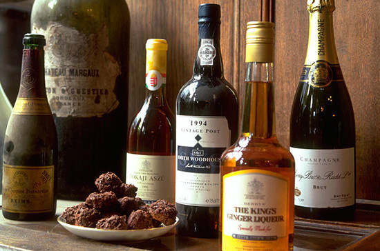 Ever thought of putting Madeira and Port into chocolate truffles? Credit: timeincukcontent.com
