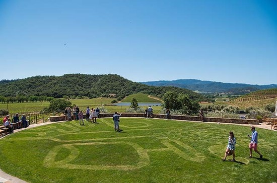 Breathtaking Napa Valley views at V2V. Credit: Bob Mclenahan