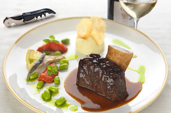 Red meat with white wine? Do it, says Matthieu Longuère MS. Credit: Le Cordon Bleu London