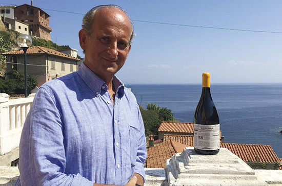 Lamberto Frescobaldi, head of the Tuscan winemaking dynasty