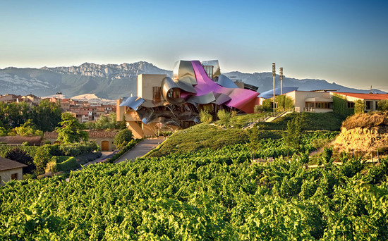 Rioja's Frank Gehry-designed City of Wine complex