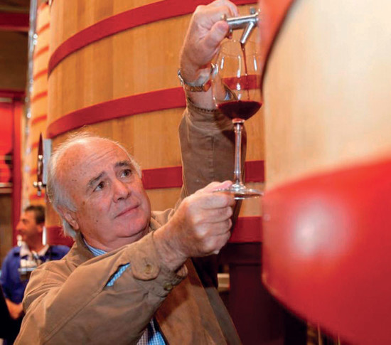 Francisco Hurtado de Amézaga, winemaking director at Marqués de Riscal