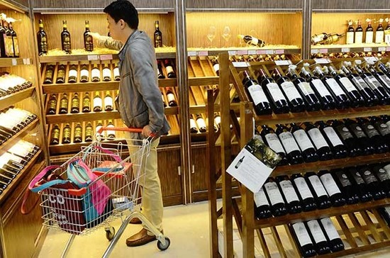 Wine imports have been rising in China. Credit: Getty / STR / stringer