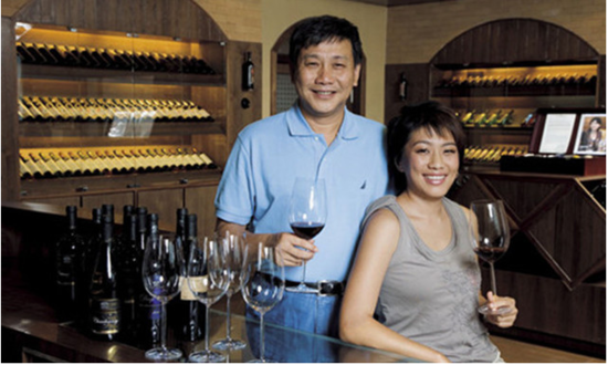 Image: Chen Jinqiang (left) and Judy Chan (right). Credit: Grace Vineyard
