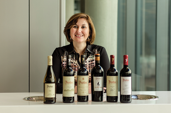 Technical Director and Chief Oenologist, Marilena Bonilla.