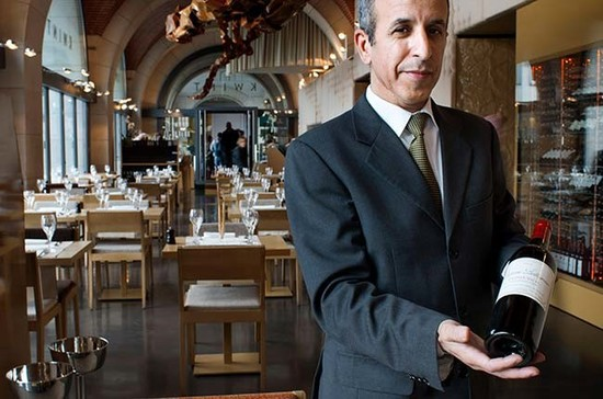 Kwint restaurant in Brussels. Talk to the sommelier and know your price limits. Image Credit: Sergi Reboredo / Alamy Stock Photo.