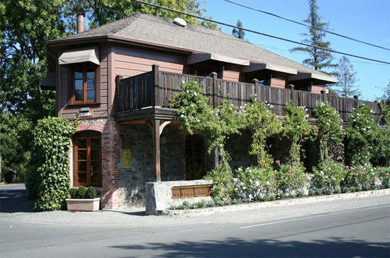 French Laundry restaurant in Yountville, Napa Valley.