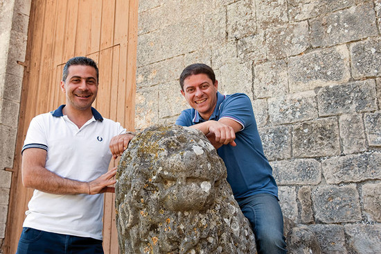 Image: Francesco Perillo (right) with Export Manager Antonio Teora