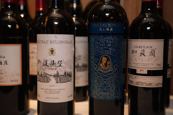 Image: Chinese wines showcased in London, credit Panda Fine Wine