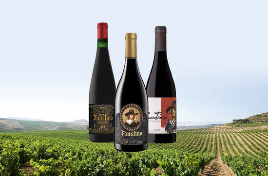 Fausitino's Corrales vineyard, Álava, La Rioja and a trio of new wines: Gran Faustino 1955; Faustino Art Collection Willy Ramos Edition and Icon Reserva Especial