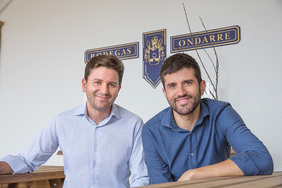 Left to right, Pedro and Luis Limousin Ucin, the 3rd generation of the founding family now at the helm of Ondarre and Olarra