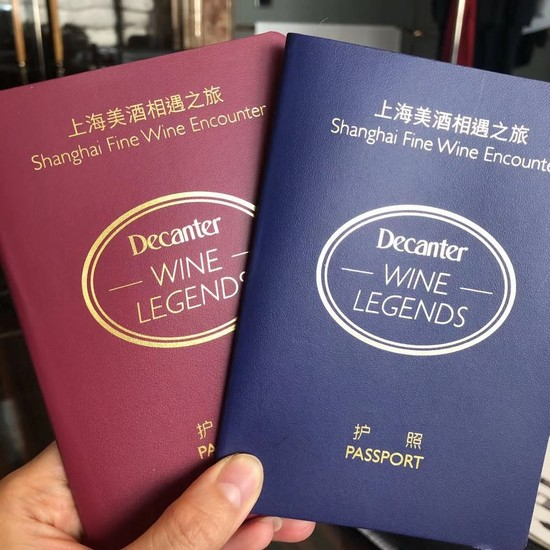 Image: Wine lovers received a 'wine passport' to collect stamps from all 20 producers